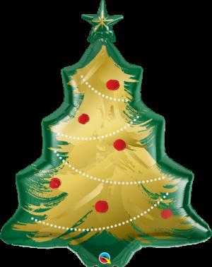 Globo metálico Árbol de Navidad