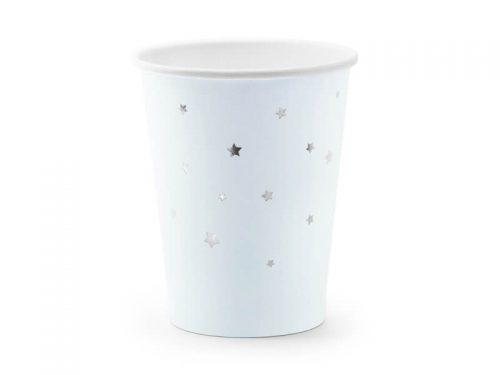Vaso Azul con Estrellas Doradas