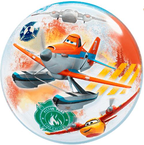 Globo burbuja Aviones Disney