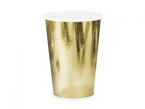 Vaso color Dorado