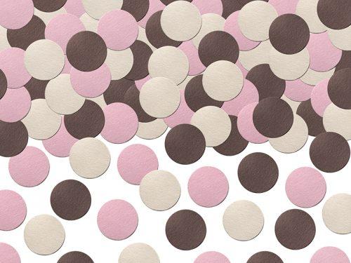 Confeti Circulo Mix tonos pastel
