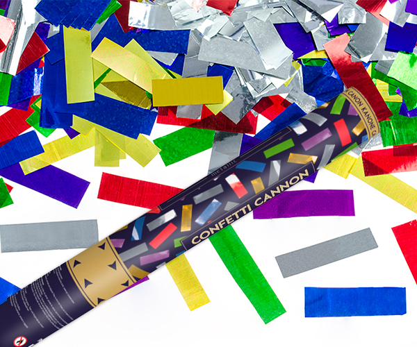 Cañon de Confeti Multicolor 40 cm
