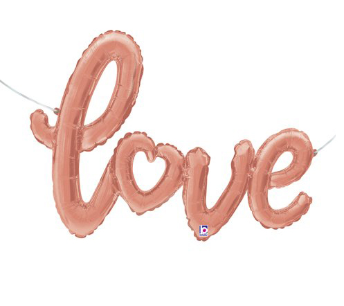 Globo letra Love script