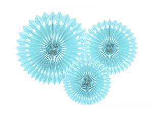 Rosetas decorativas color Azul claro