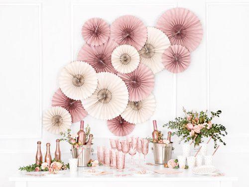 Rosetas decorativas color Crema