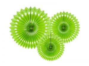 Rosetas decorativas color Verde Lima