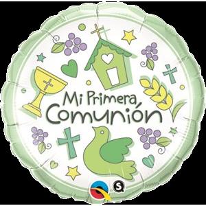 Globo metálico Mi Primera Comunión