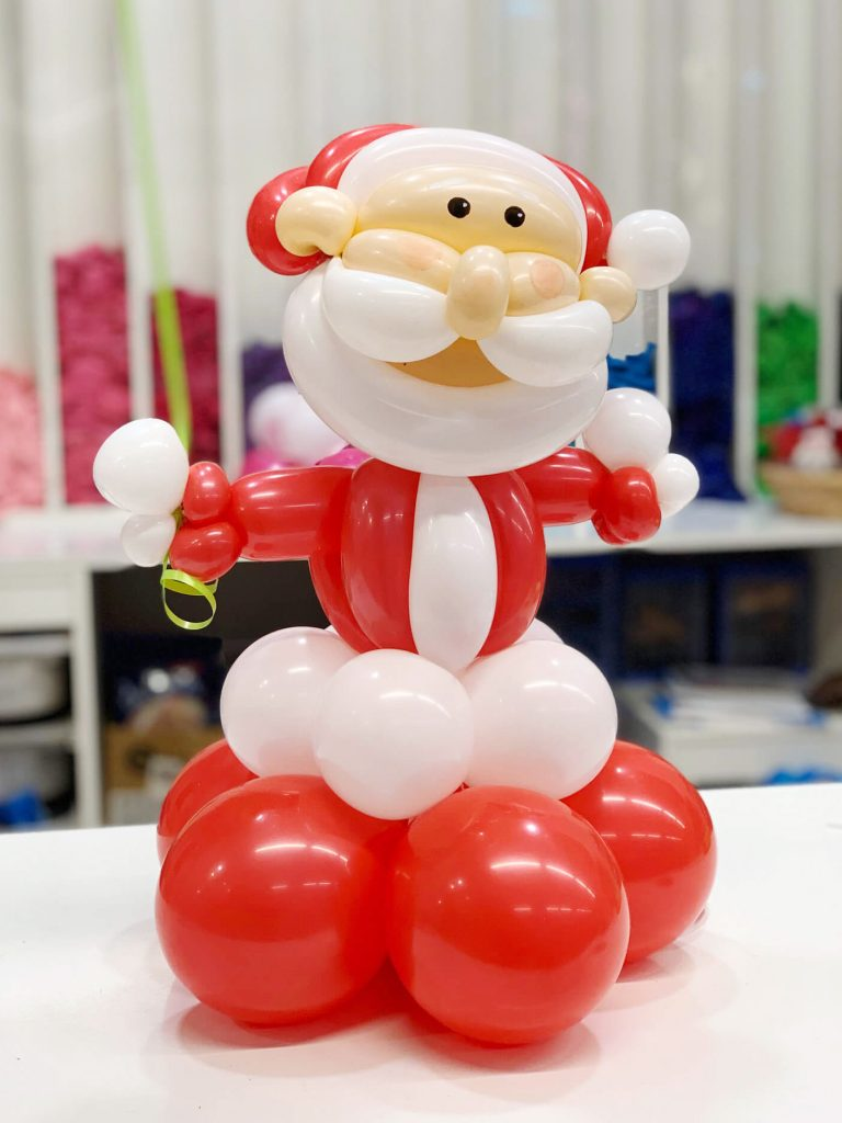 Centro de aire Papá Noel