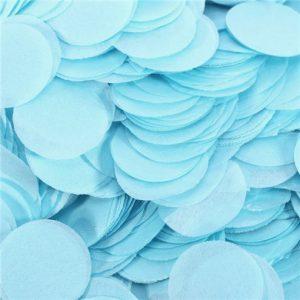 Confeti de papel Azul claro