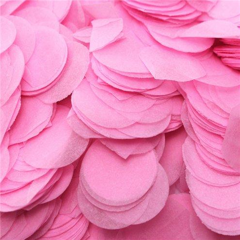 Confeti de papel Rosa claro