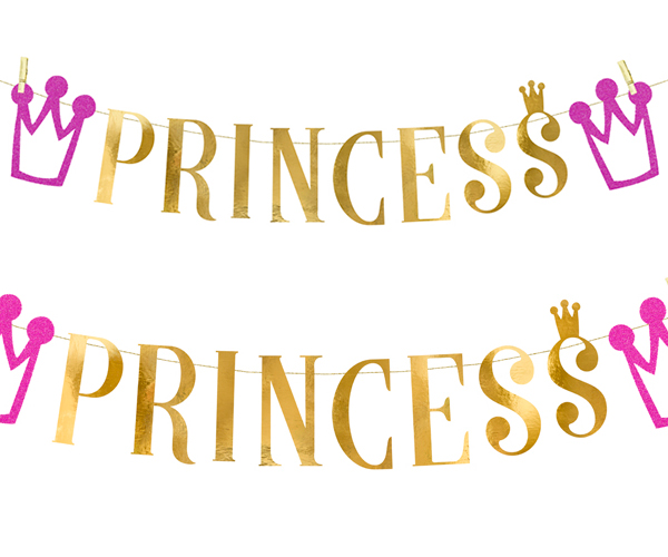 Guirnalda Fiesta Princesa