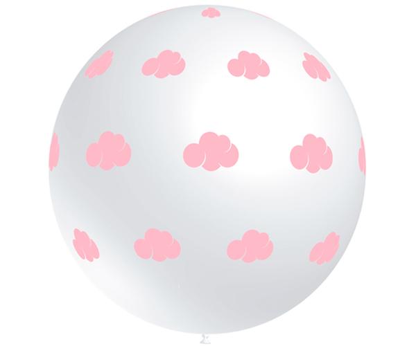 Globos de látex Nube Rosa gigante