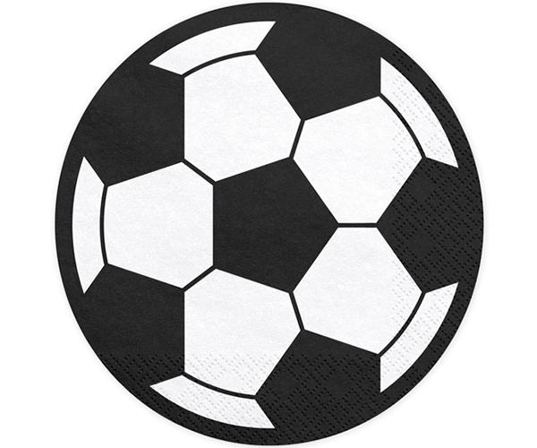 Servilletas Futbol redondas