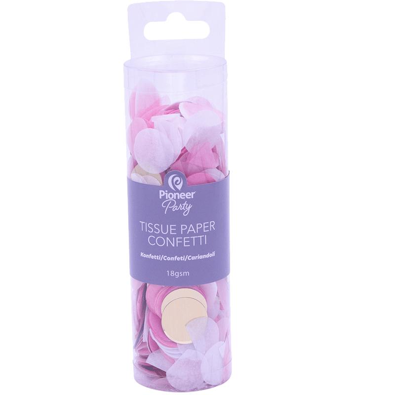 Confeti Pink, White & Gold