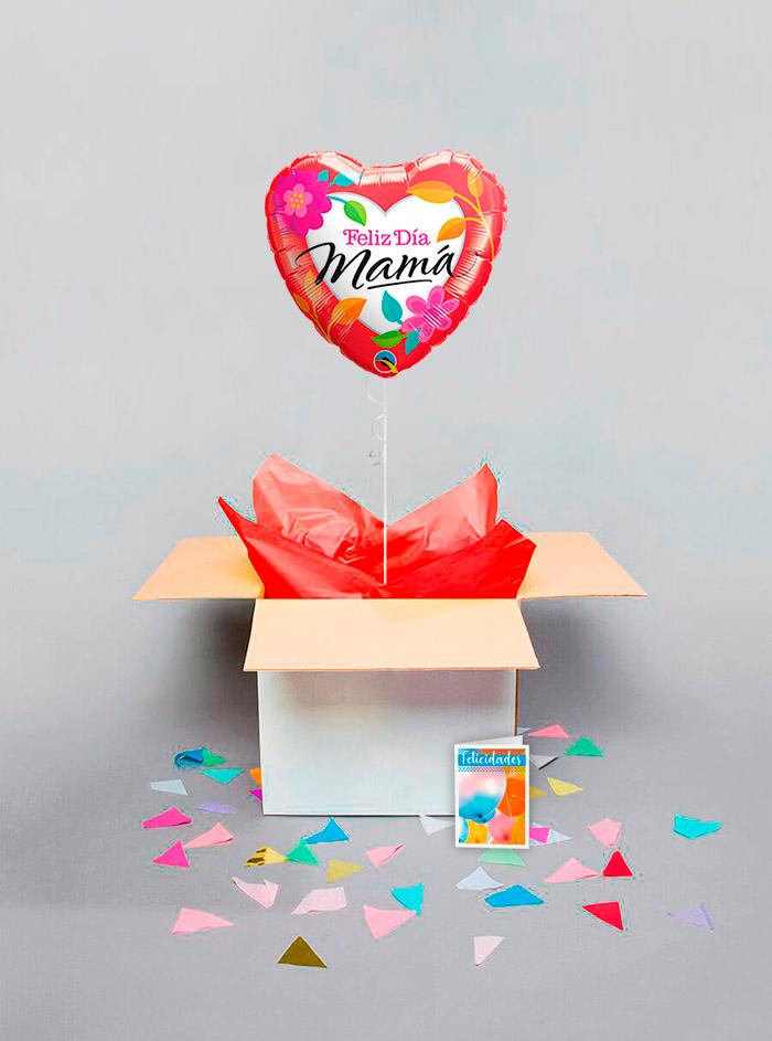 Caja sorpresa Feliz día Mamá