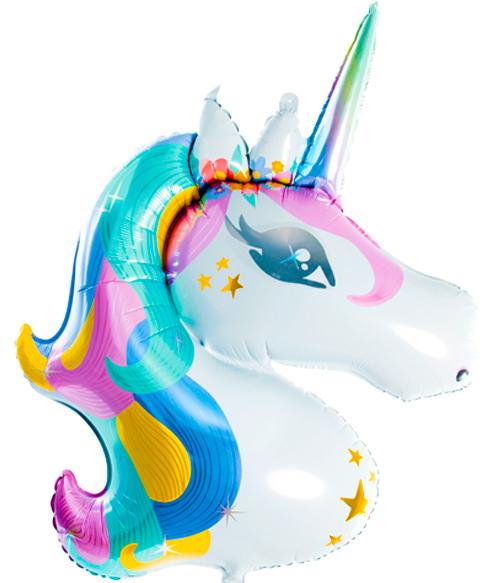 Globo metálico Unicornio mix