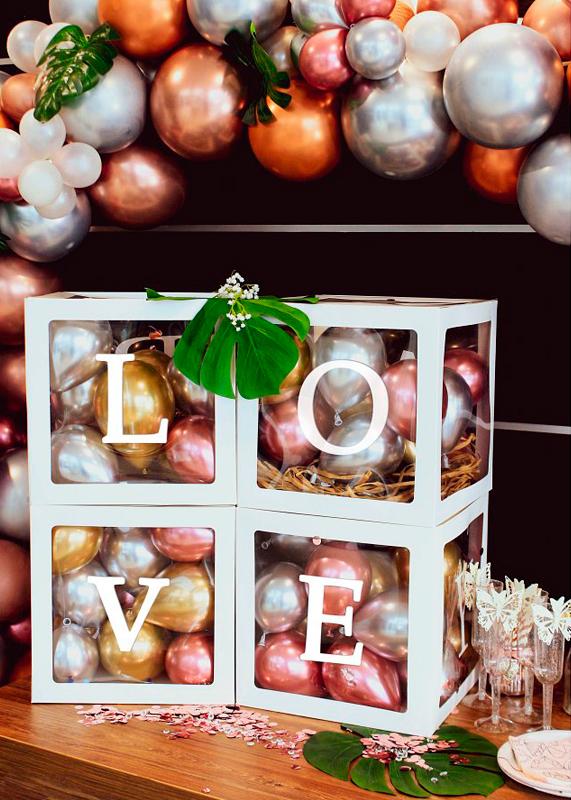Kit de caja de decoración Love