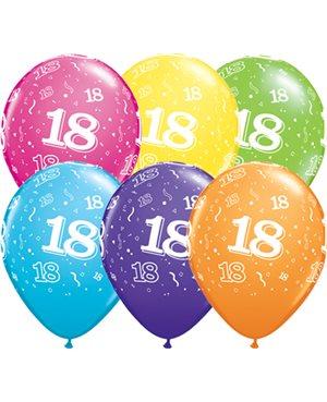 Globo 18 años Feliz Cumpleaños