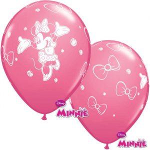 Globo Minnie Mouse Disney rosa