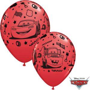 Globo Cars McQueen Disney rojo