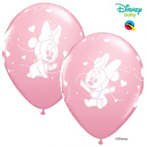 Globo Minnie Mouse Baby Disney rosa