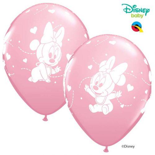 Globo Minnie Mouse Baby Disney rosa