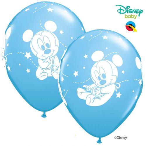 Globo Mickey Mouse Baby Disney azul