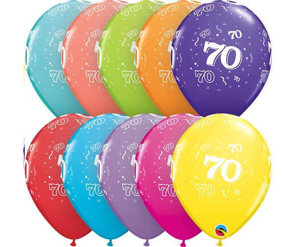 Globo 70 años Feliz Cumpleaños