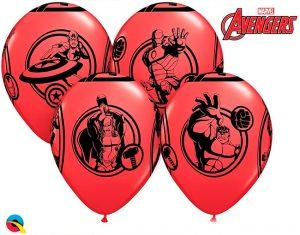 Globo Los Vengadores Avengers Marvel rojo