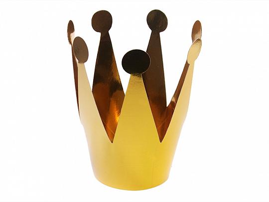 Corona para fiesta dorada pack 3