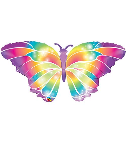 Globo metálico Mariposa colorful