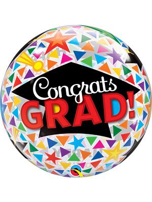 Globo Burbuja Congrats Grad