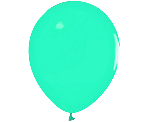 Globos de látex Verde menta pastel