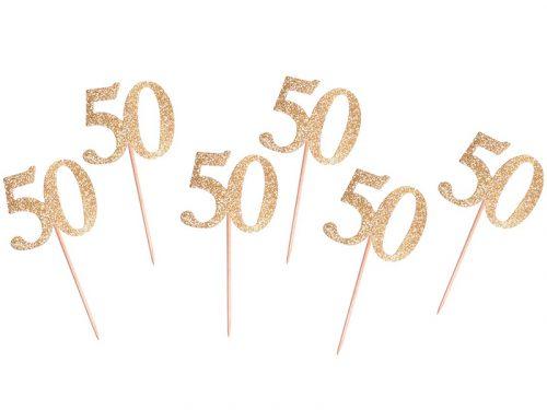 Palillo decorativo 50 dorado