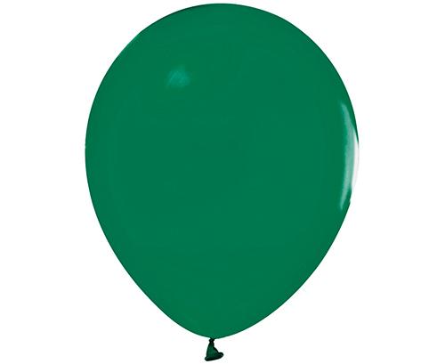 Globos de látex Verde oscuro pastel