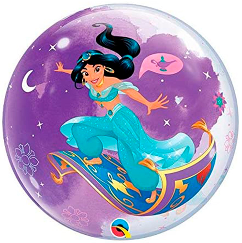 Globo burbuja Disney Princesa Jasmine