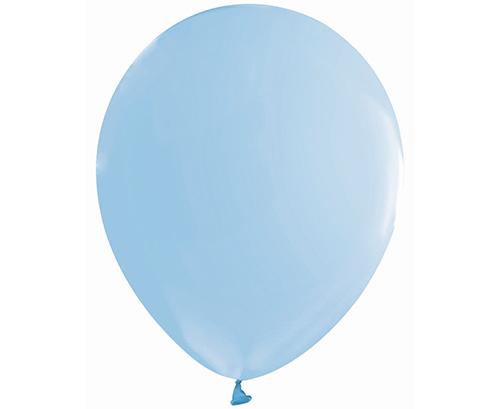 Globos de látex Azul macaron mate