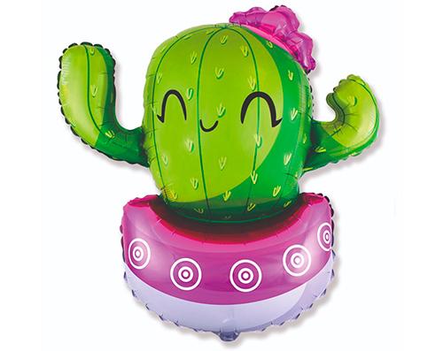 Globo Cactus fucsia