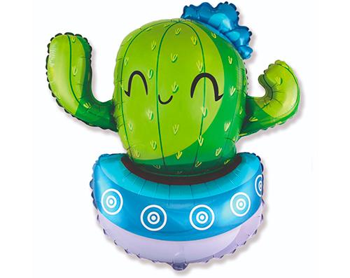 Globo Cactus azul