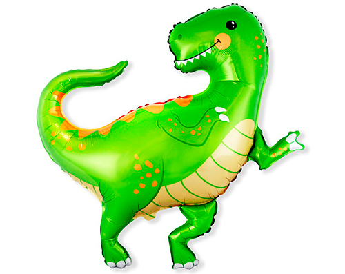 Globo Dinosaurio metálico