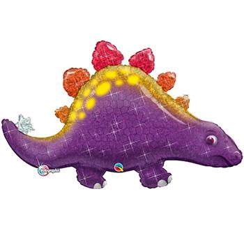 Globo metálico Dinosaurio