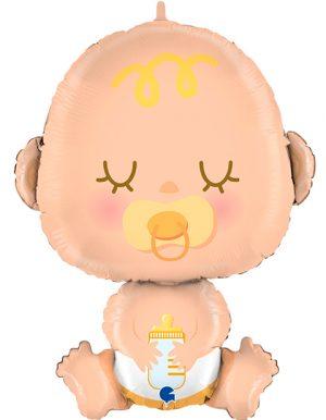 Globo metálico Bebé gigante