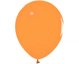 Globos de látex Naranja pastel