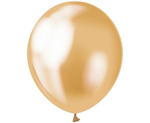 Globos de látex Oro platinum