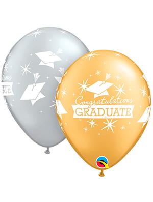 Globo látex Congratulations Graduate