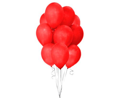 Globos de látex Rojo pastel