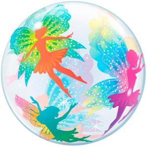 Globo burbuja Hadas mágicas