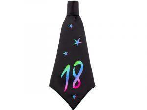 Corbata de cumpleaños 18