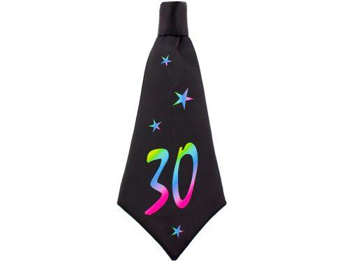 Corbata de cumpleaños 30