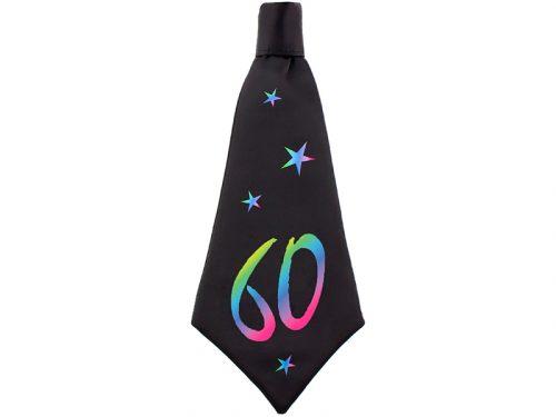 Corbata de cumpleaños 60